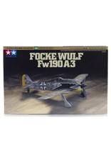 Tamiya Tamiya 1/72 Focke-Wulf Fw190 A-3 Fighter Scaled Plastic Model Kit