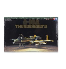 Tamiya Tamiya 1/72 A-10A Thunderbolt II Jet Scaled Plastic Model Kit