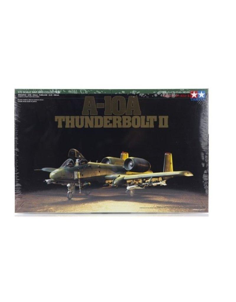 Tamiya Tamiya 1/72 A-10A Thunderbolt II Jet Scaled Plastic Model Kit
