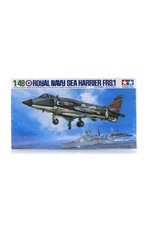 Tamiya Tamiya 1/48 Royal Navy Sea Harrier FRS.1 Jet Scaled Plastic Model Kit