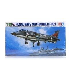 Tamiya Tamiya 1/48 Royal Navy Sea Harrier FRS.1 Jet Scaled Plastic Model Kit