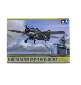 Tamiya Tamiya 1/48 Grumman F4F-4 Wildcat Scaled Plastic Model Kit