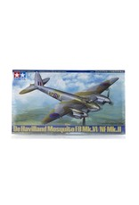 Tamiya Tamiya 1/48 de Havilland Mosquito FB Mk.VI/NF Mk.II Bomber Scaled Plastic Model Kit