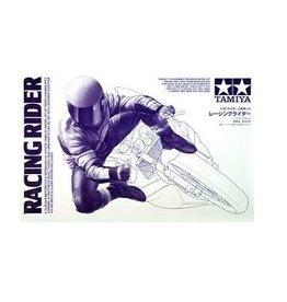 Tamiya Tamiya 1/12 Leaning Into Corner Rider Figure Plastic Model