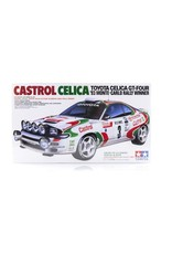 Tamiya Tamiya 1/24 Toyota Castrol Celica '93 Monte-Carlo Rally Winner Scaled Plastic Model Kit