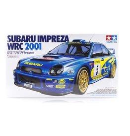 Tamiya Tamiya 1/24 Subaru Impreza WRC '01 Scaled Plastic Model Kit
