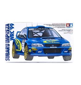 Tamiya Tamiya 1/24 Subaru Impreza WRC`99 Scaled Plastic Model Kit