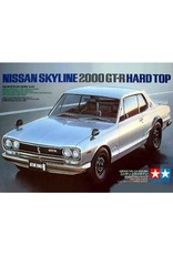 Tamiya Tamiya 1/24 Nissan Skyline 2000 GT-R Hard Top Scaled Plastic Model Kit