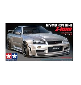 Tamiya Tamiya 1/24 Nissan Nismo R34 GT-R Z-Tune Scaled Plastic Model Kit
