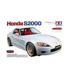 Tamiya Tamiya 1/24 Honda S2000 Hard Top Scaled Plastic Model Kit