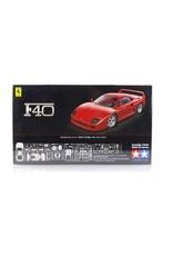 Tamiya Tamiya 1/24 Ferrari F40 Scaled Plastic Model Kit