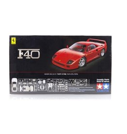 Tamiya Tamiya 1/24 Ferrari F40 Scaled Plastic Model Kit