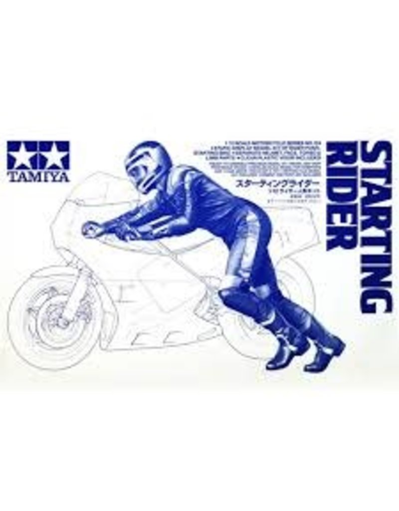 Tamiya Tamiya 1/12 Starting Rider Figure Plastic Model