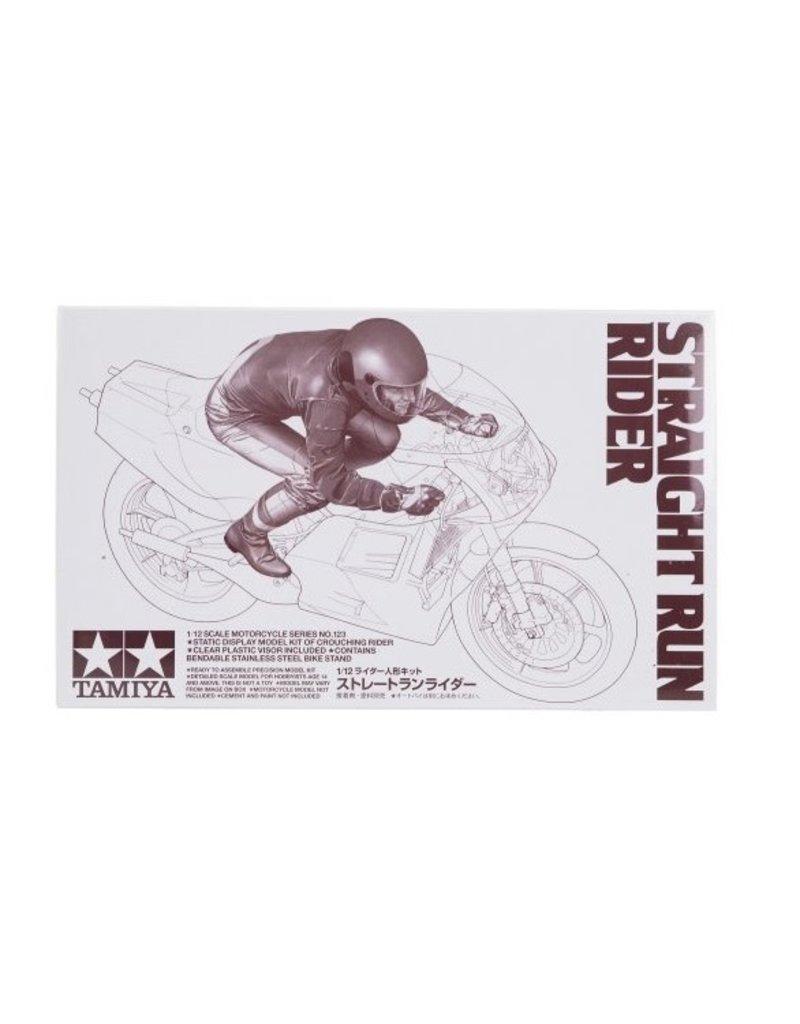 Tamiya Tamiya 1/12 Straight Run Rider Figure Plastic Model