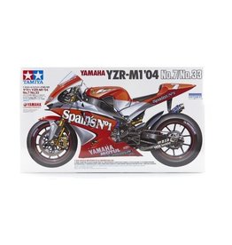 Tamiya Tamiya 1/12 Yamaha YZR-M1 04 No.7/No.33 Motorcycle Plastic Model Kit