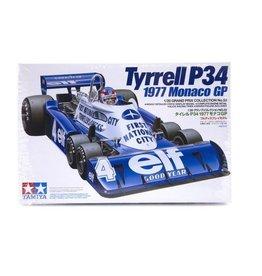 Tamiya Tamiya 1/20 Tyrrell P34 1977 Monaco GP F1 Plastic Model Kit
