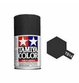 Tamiya TS-14 Black Lacquer Spray Paint 100ml