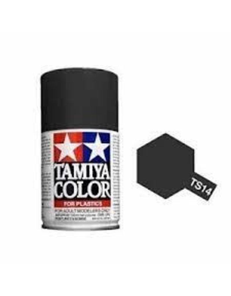 Tamiya TS-14 Black Lacquer Spray Paint 100ml
