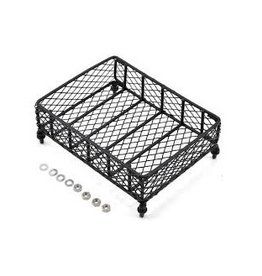 Yeah Racing Yeah Racing 1/10 130x100mm Black Metal Roof Rack