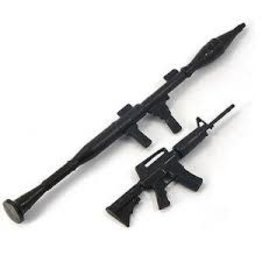 Yeah Racing Yeah Racing 1/10 Model Rifle & Rocket Launcher Set