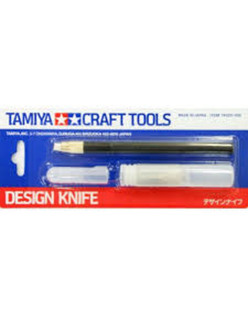 Tamiya Tamiya Craft Design Knife w/ Spare Blades