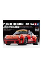 Tamiya Tamiya 1/24 Porsche Turbo RSR Type 934 Jagermeister Plastic Model Kit