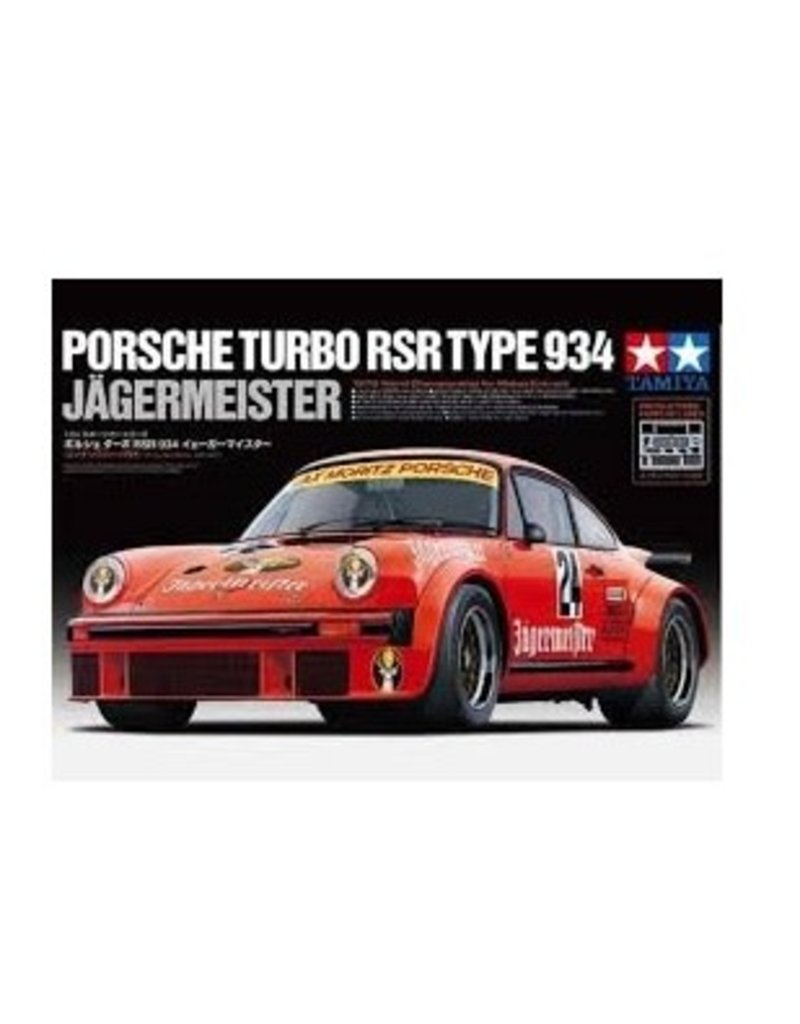 Tamiya Tamiya 24328 1/24 Porsche Turbo RSR Type 934 Jägermeister Plastic Model Kit