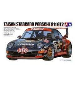 Tamiya Tamiya 1/24 Taisan Starcard Porche 911 GT2 Scaled Plastic Model Kit