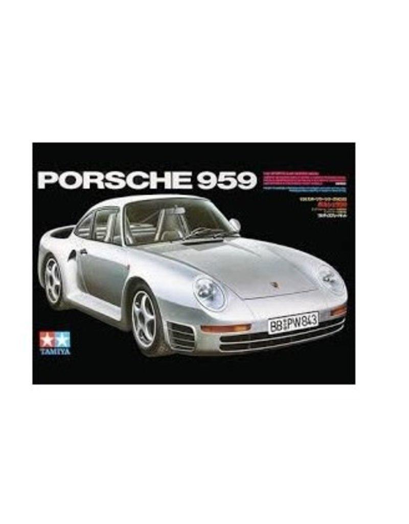 Tamiya Tamiya 1/24 Porsche 959 Scaled Plastic Model Kit
