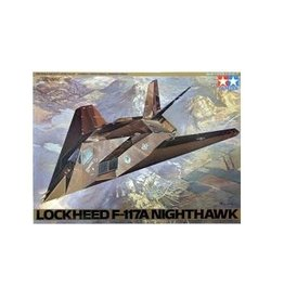 Tamiya Tamiya 1/48 Lockheed F-117A Nighthawk Jet Scaled Plastic Model Kit