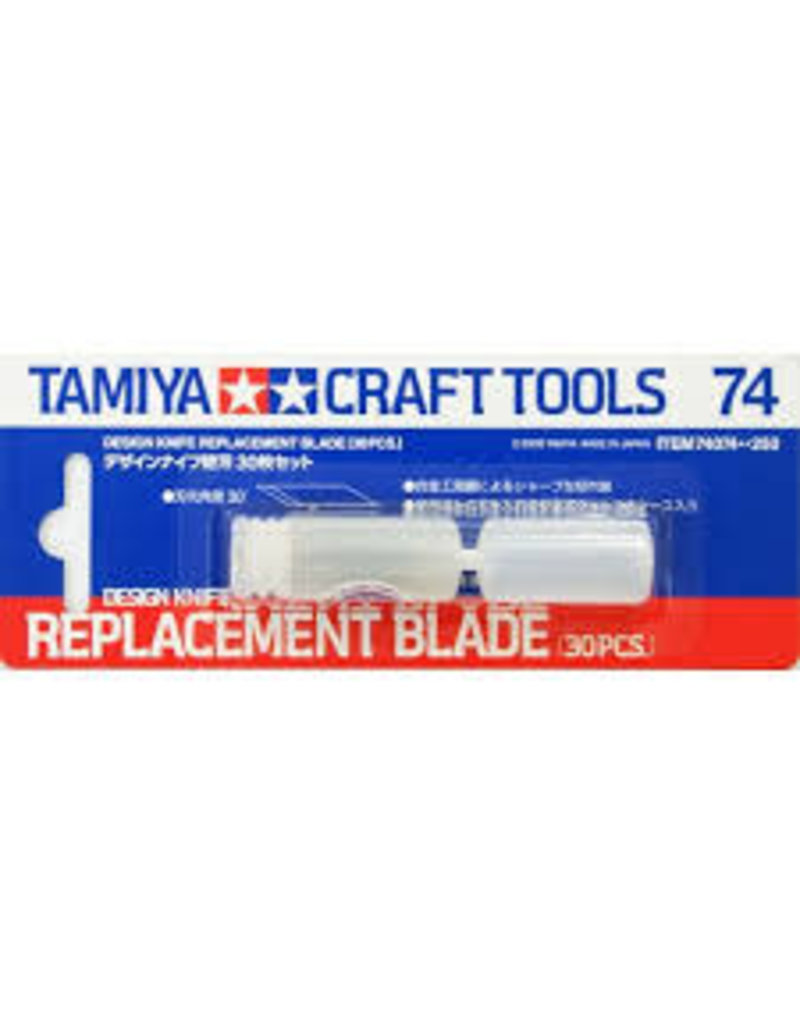 Tamiya Tamiya Craft Design Knife Replacement Blades 30Pcs
