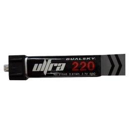 Dualsky Dualsky 220mah 1S, 50C LiPo Battery, UMX Plug