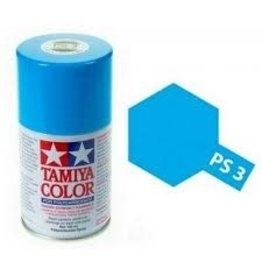 Tamiya PS-3 Light Blue Polycarbanate Spray Paint 100ml
