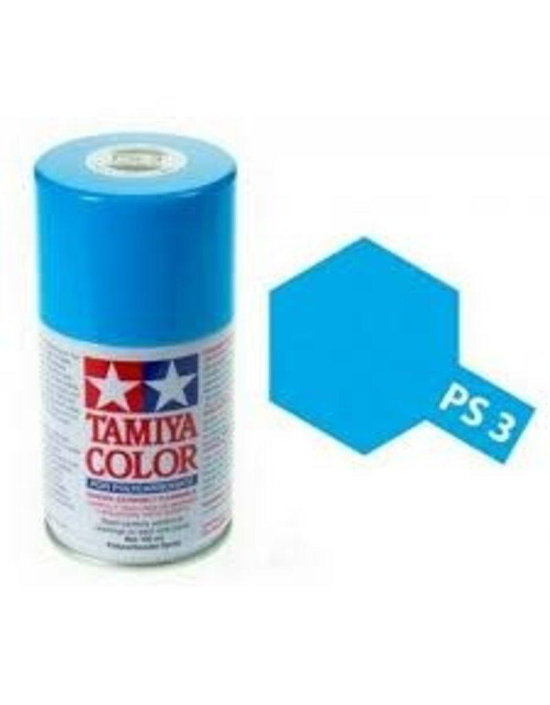 Tamiya PS-3 Light Blue Polycarbanate Spray Paint 100ml