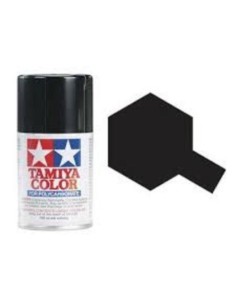 Tamiya PS-5 Black Polycarbanate Spray Paint 100ml