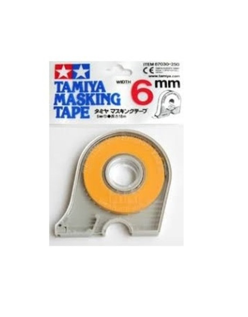 Tamiya Tamiya 6mm Masking Tape w/Dispenser