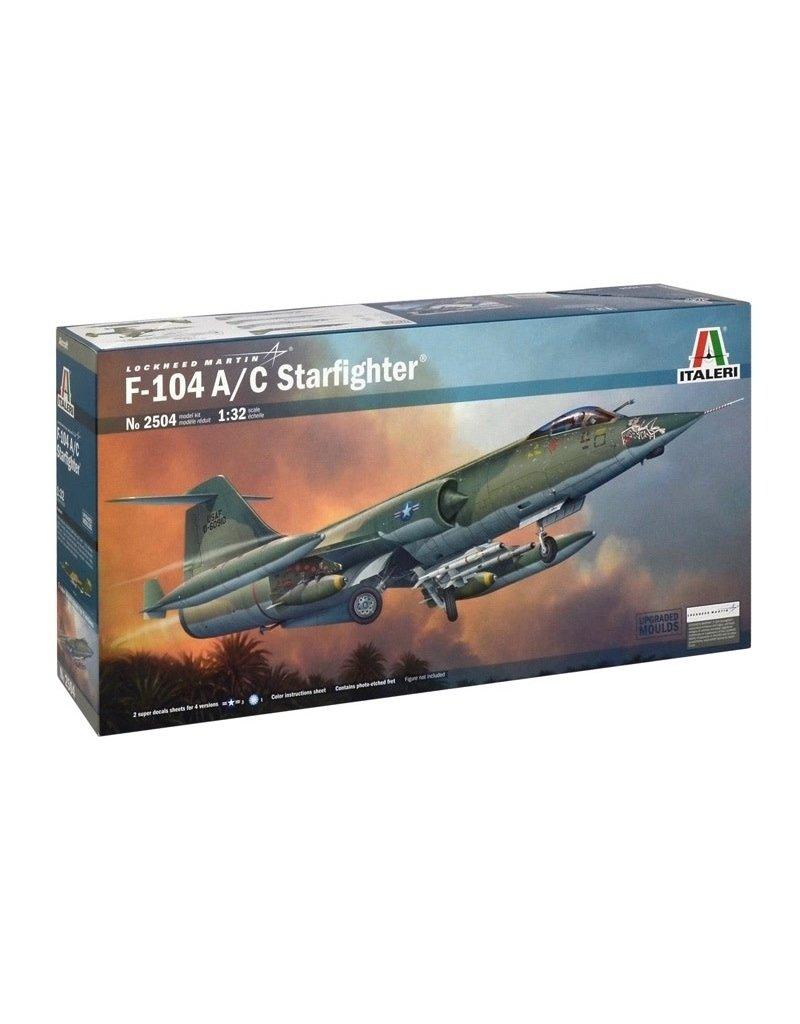 Italeri Italeri 2504 1/32 F-104 A/C Starfighter