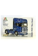 Italeri Truck Scania R620 Blue Shark