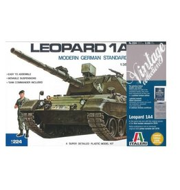 Italeri Tank Leopard 1A4 + Aust Decals