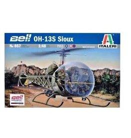 Italeri 1/48 OH13S Siox + Aust Decals