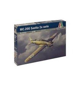 Italeri Italeri 2711 1/48 MC.200 Saetta 2A Serie
