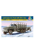 Italeri Italeri 6499 1/35 Lend-Lease U.S. Truck + ZIS-3 Gun