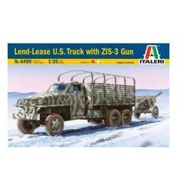 Italeri Land Lease Us Truck + ZIS-3 Gun