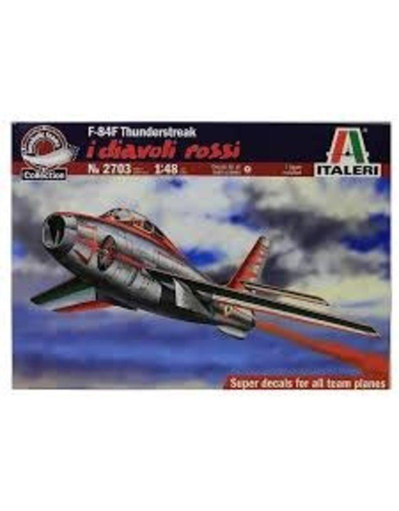 Italeri 1/48 F84F Thunderstreak Diavol