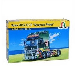 Italeri 1/24 Volvo FH12 Spraycan Power