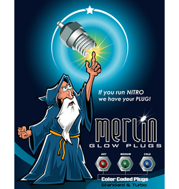 Merlin Merlin Glow plug Air/Turbo Medium