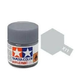 Tamiya Tamiya X-11 Chrome Silver Gloss Acrylic Paint 10ml