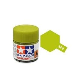 Tamiya Tamiya XF-4 Yellow Green Flat Acrylic Paint 10ml