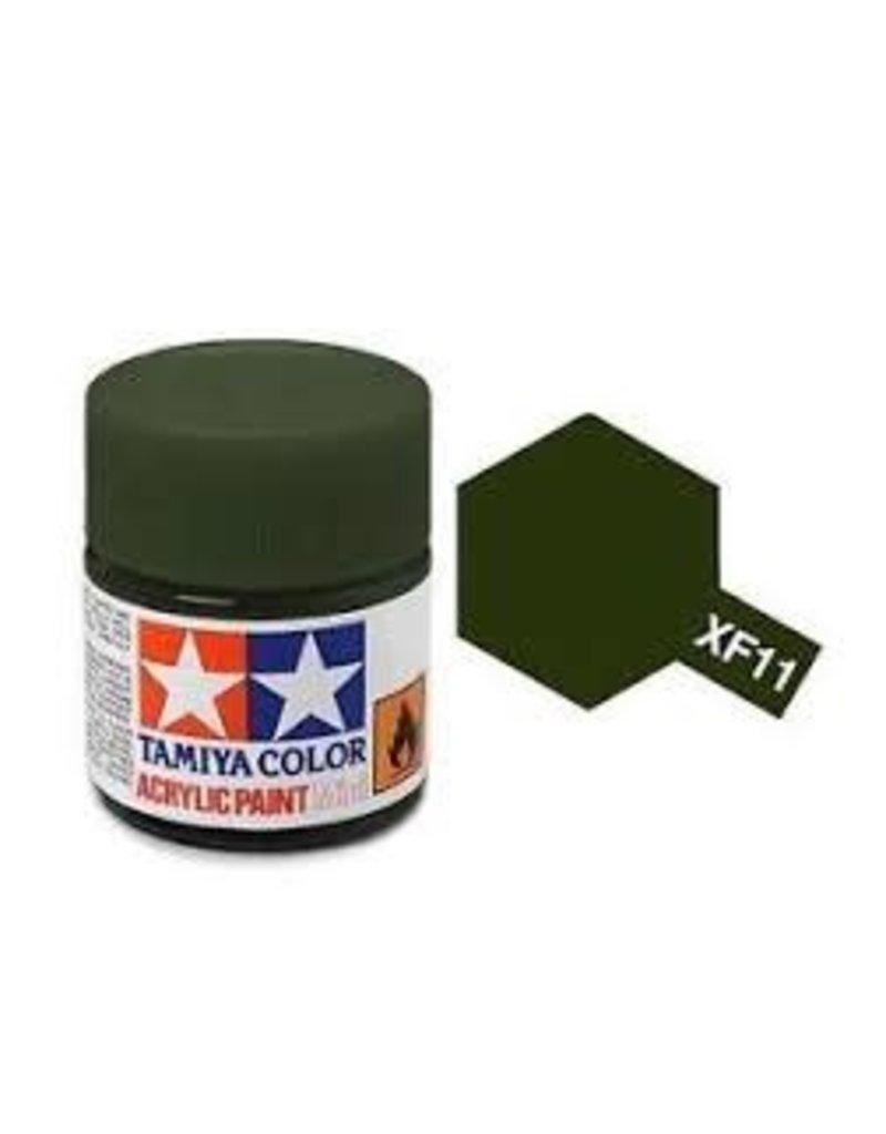 Tamiya Tamiya XF-11 J.N. Green Flat Acrylic Paint 10ml