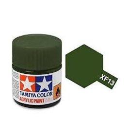Tamiya Tamiya XF-13 J.A. Green Flat Acrylic Paint 10ml